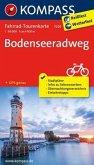 Kompass Fahrrad-Tourenkarte Bodenseeradweg