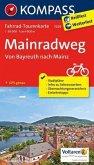Kompass Fahrrad-Tourenkarte Mainradweg, Von Bayreuth nach Mainz