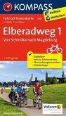 Kompass Fahrrad-Tourenkarte Elberadweg