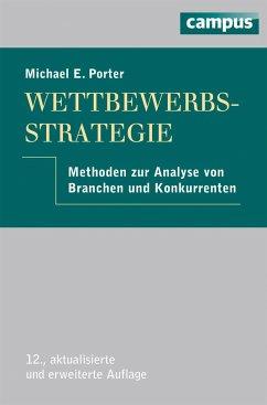 Wettbewerbsstrategie - Porter, Michael E.