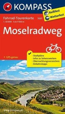Fahrrad-Tourenkarte Moselradweg