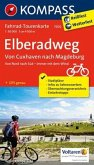 Fahrrad-Tourenkarte Elberadweg, Von Cuxhaven nach Magdeburg
