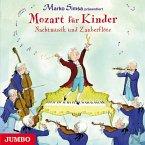 Mozart für Kinder. Nachtmusik und Zauberflöte, Audio-CD