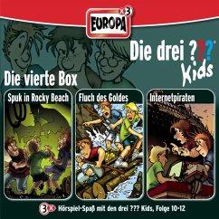 Die drei Fragezeichen-Kids - Die 4. Box, 3 Audio-CDs - Blanck, Ulf