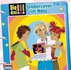 Undercover im Netz / Die drei Ausrufezeichen Bd.23 (1 Audio-CD)