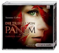 Gefährliche Liebe / Die Tribute von Panem Bd.2 (6 Audio-CDs) - Collins, Suzanne