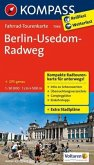KOMPASS Fahrrad-Tourenkarte Berlin-Usedom-Radweg