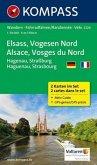 KOMPASS Wanderkarte Elsass - Vogesen Nord - Alsace - Vosges du Nord