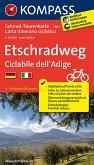 Kompass Fahrrad-Tourenkarte Etschradweg / Ciclabile dell'Adige