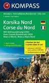 Kompass Karte Korsika Nord, 3 Bl.; Corse du Nord