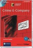 Crime & Company, 1 Audio-CD + Begleitbuch