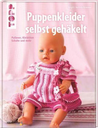 Puppenkleider Selbst Gehäkelt Von Birgitt Hettich Kraemer Portofrei