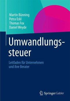 Umwandlungssteuer - Bünning, Martin;Eckl, Petra;Fox, Thomas