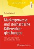 Markovprozesse und stochastische Differentialgleichungen