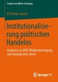Institutionalisierung politischen Handelns