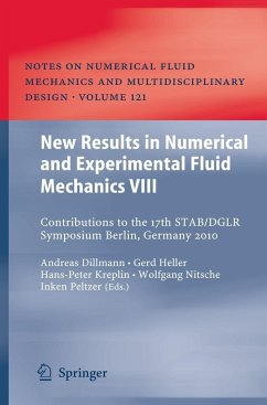 New Results in Numerical and Experimental Fluid Mechanics VIII