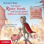 Der kleine Ritter Trenk und fast das ganze Leben im Mittelalter / Der kleine Ritter Trenk Bd.4 (5 Audio-CDs)