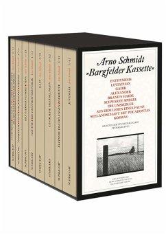 Bargfelder Ausgabe. Studienausgabe der Werkgruppe I: Romane, Erzählungen, Gedichte, Juvenilia - Schmidt, Arno