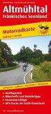 PublicPress Motorradkarte Altmühltal - Fränkisches Seenland