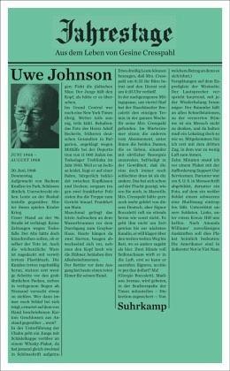 Jahrestage. Band 4 - Uwe Johnson