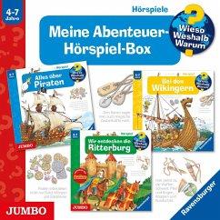 Meine Abenteuer-Hörspiel-Box, 3 Audio-CDs