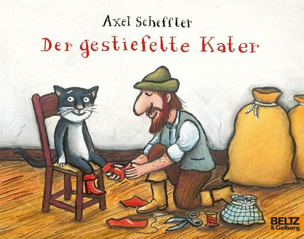 der gestiefelte kater von axel scheffler buch b. Black Bedroom Furniture Sets. Home Design Ideas