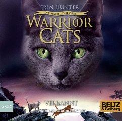 Verbannt / Warrior Cats Staffel 3 Bd.3, 5 Audio...