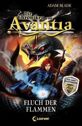 Buch-Reihe Die Chroniken von Avantia von Adam Blade