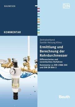 Ermittlung und Berechnung der Rohrdurchmesser - Heinrichs, Franz-Josef