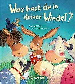 Was hast du in deiner Windel? - Grimm, Sandra; Kraushaar, Sabine