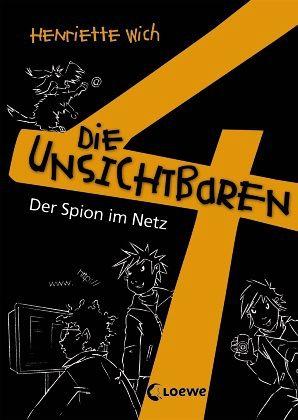 Buch-Reihe Die unsichtbaren 4 von Henriette Wich