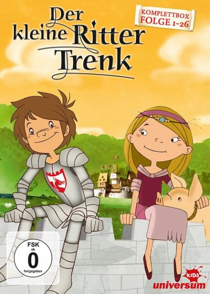 Der kleine Ritter Trenk - Komplettbox Folge 1-26 6 Discs
