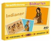 Sprachförderung mit Bildkarten Indianer
