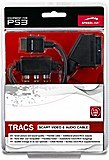 Speedlink SL-4412-BK TRACS SCART Video & Audio Kabel, schwarz