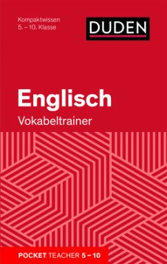 Pocket Teacher Englisch - Vokabeltrainer 5.-10....