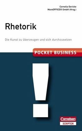 Pocket Business. Rhetorik - Gericke, Cornelia