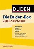 Die Duden-Box Deutsch 5. bis 10. Klasse
