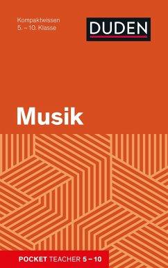 Pocket Teacher Musik 5.-10. Klasse - Mittelstädt, Holger