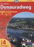 BVA Radreisekarte EuroVelo 6, Donauradweg - Regensburg - Passau