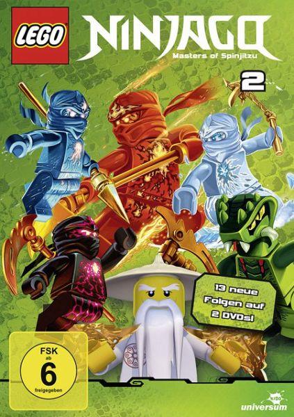 Lego Ninjago - Staffel 2 (2 Discs)
