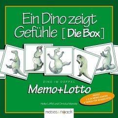 Ein Dino zeigt Gefühle, Die Box (Kinderspiel)