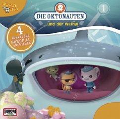 Die Oktonauten und der Walhai, 1 Audio-CD