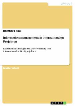 Informationsmanagement in internationalen Projekten - Fink, Bernhard