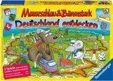 Mauseschlau & Bärenstark, Deutschland entdecken (Kinderspiel)