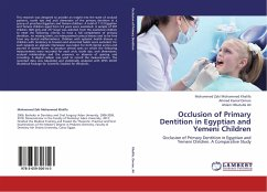 Occlusion of Primary Dentition in Egyptian and Yemeni Children