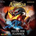 Fluch der Flammen / Die Chroniken von Avantia Bd.4 (2 Audio-CDs)