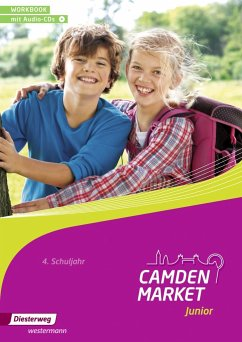 Camden Market Junior 4. Workbook mit Audio-CD