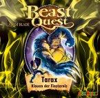 Tarax, Klauen der Finsternis / Beast Quest Bd.21 (Audio-CD)