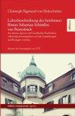 Lebenbeschreibung des berühmten Ritters Sebastian Schärtlins von Burtenbach