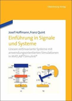 Einführung in Signale und Systeme - Hoffmann, Josef; Quint, Franz